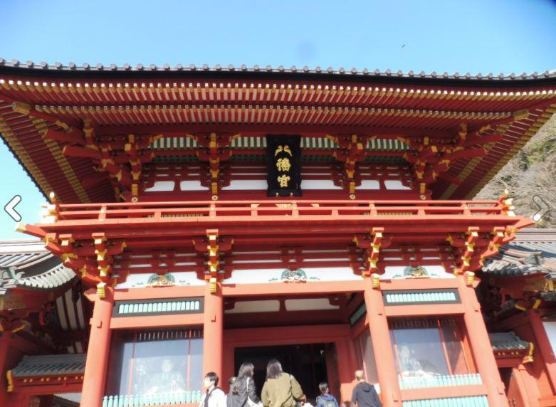江ノ島&鎌倉パワースポットの旅(鶴岡八幡宮)