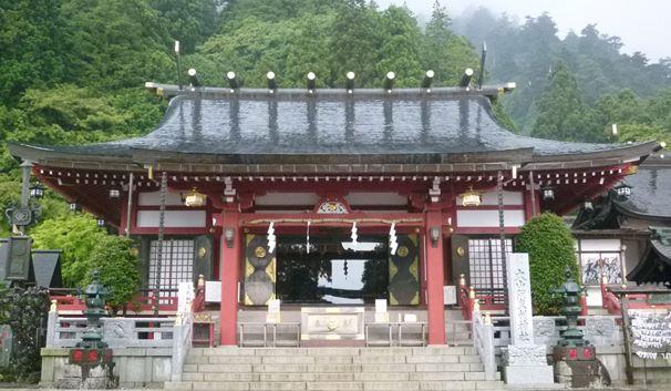 山の神様がいるパワースポット(神奈川県・大山阿夫利神社)