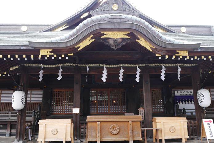 東京最強の縁結びスポットは、ここ!(大國魂神社)