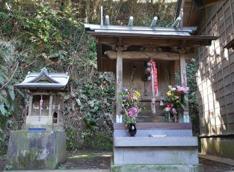 知る人ぞ知る、縁結びの神社へ(諸磯神明社/小桜姫神社)