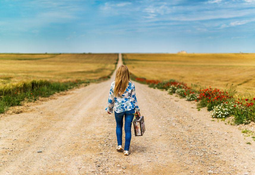 人が進むべき道は、1本の道としてつながっている