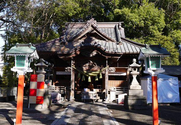 期間限定の御守りがある龍神様の神社(田無神社)